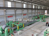 فولاذ شريط يشقّ وقطعة إلى طول آلة