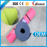 Indicatore luminoso della stuoia di yoga del materiale 8mm Pilates di protezione dell'ambiente