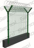 Покрынный PVC Китая конструировал загородку ячеистой сети