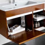 衛生製品現代様式のカシ木浴室の虚栄心