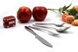 Regalo determinado del conjunto de cena de los platos y cubiertos del oro de Rose de la cuchillería del acero inoxidable 430