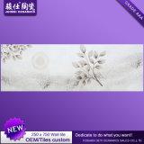 Mattonelle di marmo bianche cinesi della stanza da bagno della parete interna di disegno di sguardo delle mattonelle di ceramica 250*750