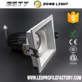 Hight 힘 사각 Downlights MR16 LED 램프 LED 남비 빛