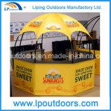 Tente hexagonale de pavillon du diamètre 3m pour la promotion de nourriture et de boisson
