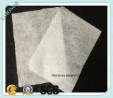 Белый материал фильтра войлока иглы