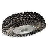 Escova de roda de fio de aço para polir