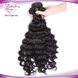 Cheveu bouclé desserré de bonne qualité tissant les allumeurs indiens en gros de cheveu