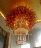 Phineの贅沢で不規則なガラス別荘の天井ランプ