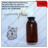 Bouteille animale alimentante d'alimentation d'animal familier de pulvérisateur de médecine en plastique de main