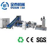 Zhangjiagang die de Plastic Pelletiseermachine van de Installatie van de Film van de Extruder Plastic Pelletiserende recycleren