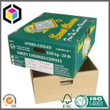Süsse Kirschfarben-gewölbtes Papier-verpackenkasten für Banane