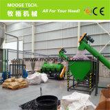 Bottiglia dell'animale domestico che ricicla la linea di produzione/lavaggio delle bottiglie di plastica che ricicla macchina