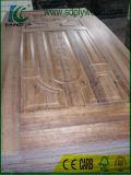 Panneau de porte de /Wooden de peau de porte de placage de cendre/chêne/noix/peau de porte
