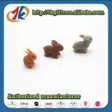 Kind-Lieblingstier-Kaninchen-Spiel-gesetztes Spielzeug mit Aufklebern
