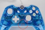 Double Vibration Wired Transparent Flash Game Controller para xBox One