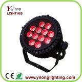 Nueva luz al aire libre de la IGUALDAD del aluminio IP65 LED de 12X15W Rgabw