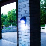 20 LED Solar Sensor de Movimento Wall Light