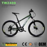 24inch bicyclette de vélo de montagne d'enfants d'Alunminum de frein à disque de la roue 24speed