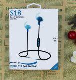 Receptor de cabeza de la radio del auricular de Bluetooth del deporte de los nuevos productos 2017