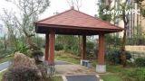 Pabellón al aire libre durable compuesto plástico de madera