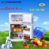 Do refrigerador solar do veículo do refrigerador de Purswave 98L DC12V24V porta dobro