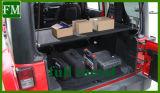 Estante de equipaje del sostenedor del estante de bagaje para el Wrangler Jk 07-17 del jeep
