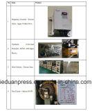 Tipo sola prensa del pórtico de potencia inestable 400 toneladas con el inversor de la frecuencia del delta de Taiwán, protector hidráulico de la sobrecarga de Japón Showa