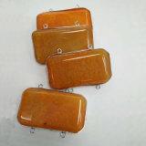 분류한 원석 마노는 도금한 정연한 목걸이 매력 펜던트를 금박을 입힌다