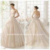 Платья венчания Au9258 Purry шариков мантий шарика Tulle Cream шнурка Bridal