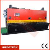 Máquina que pela hidráulica de la hoja de metal del CNC, cortadora hidráulica de hoja, QC12y-4X2500 E21s