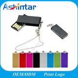 De waterdichte MiniWartel USB Pendrive van de Stok van het Geheugen van het Metaal USB