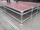 Stahlstadiums-Plattformen, im Freienleistungs-Stadium