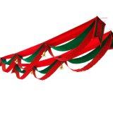 Veelkleurige Kerstmis hangt Vlaggen (JG668)