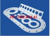 Textura resistente del Zirconia del papel de cerámica refractario de la fibra y alta resistencia de la compresión