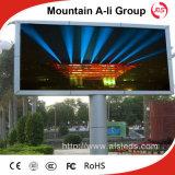 Schermo esterno di colore completo LED dell'ali P10 RGB della montagna, segno del LED
