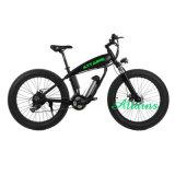 脂肪質のタイヤの雪山の砂浜の電気自転車