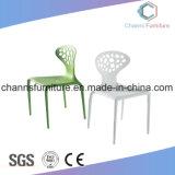 Haltbare hoher Grad-weiße Farben-Freizeit-Plastikbüro-Trainings-Stuhl