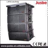 Rectángulo del altavoz de Guangzhou salón de conciertos línea competitiva precio de 18 pulgadas del arsenal
