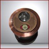 Porte en acier des prix d'enduit bon marché de poudre avec la couleur de Brown fabriquée en Chine