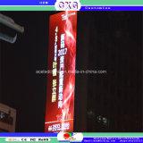 Outdoo P16 a todo color que hace publicidad de la pantalla de visualización de LED