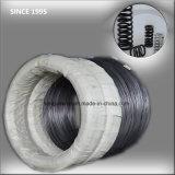 Acero y alambre comprimidos industriales de la bobina del resorte