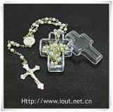Contenitore di imballaggio, contenitore trasversale di rosario, casella religiosa, rosari + casella trasversale per i rosari (IO-p031)