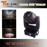 O clube principal movente DJ do ponto do diodo emissor de luz da luz 300W do disco de um mais baixo preço encena a luz