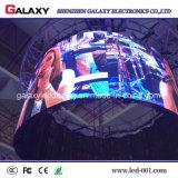 La publicité de publicité incurvée polychrome de /LED Sign/LED d'étalage de la galaxie P2.98/P3.91/P4.81/P5.95 DEL Screen/LED