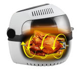 Fritadora de aire eléctrico de grado alimentario para la venta