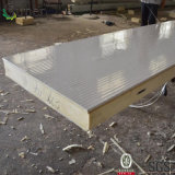 Customizing PU Sandwich Panel para carne de porco congelada