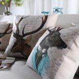 Крышки подушки акцента конкурсного хлопка Linen для дома