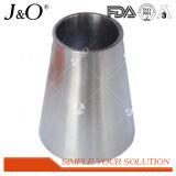 溶接された同心の減力剤として衛生管付属品の管