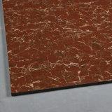 赤いPulatiをロードする建築材料の倍は磁器のタイルによってガラス化された床タイルのよい価格を磨いた