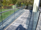 Clear View Frameless Glass Balustrade Fittings com U Base Channel
